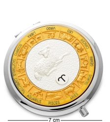 WIN- 02- 8 Зеркало серебр.  Знак Зодиака - Овен