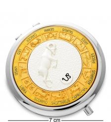 WIN- 02-10 Зеркало серебр.  Знак Зодиака - Козерог