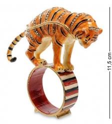 JB- 84 Шкатулка «Тигр на кольце»