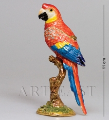 JB- 88 Шкатулка  Попугай Ара