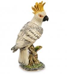JB- 91 Шкатулка  Попугай Какаду