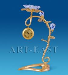 AR-1118 Фигурка с часами  Цветок   Юнион