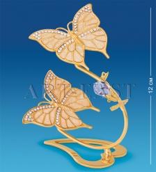 AR-4028 Композиция  Бабочки со стразами   Юнион