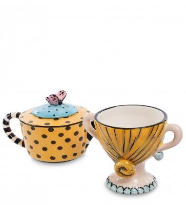 CMS-01/ 4 Чайный набор Дама  Pavone