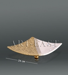 AHURA- 69 Тарелка с кристаллами Сваровски