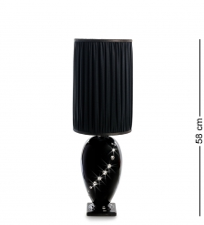 AHURA- 76 Настольная лампа с кристаллами Сваровски