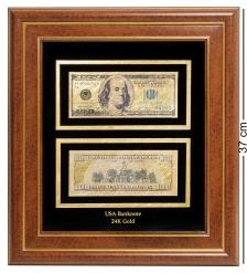 HB-003 Панно  Банкнота 100 USD  доллар  США - 2/size