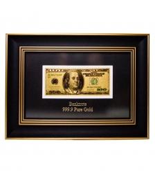HB-001 Панно  Банкнота 100 USD  доллар  США