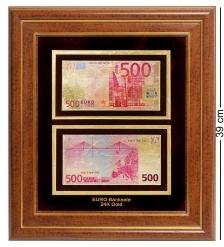 HB-004 Панно  Банкнота 500 EUR  евро  Евросоюз - 2/size