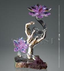 RA- 6 Фигура  Бронзовые руки с хрустал. цветками