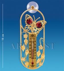 AR-3726/ 1 Термометр на липучке  Бабочка  с цв.кр.  Юнион