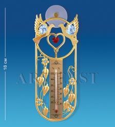 AR-3739/ 1 Термометр на липучке  Голуби  с цв.кр.  Юнион