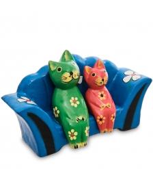 28-026-03 Статуэтка mini КОШКИ на диване
