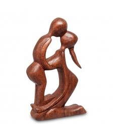 91-028 Статуэтка АБСТРАКЦИЯ 15 см  красное дерево