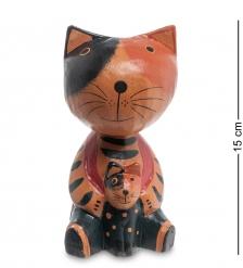 28-019 Статуэтка mini КОШКА с котенком