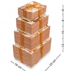 WA-50-15 Комплект коробок из 4шт  Прямоугольник новый