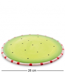CMS-03/10 Десертная тарелка «Пудель»  Pavone