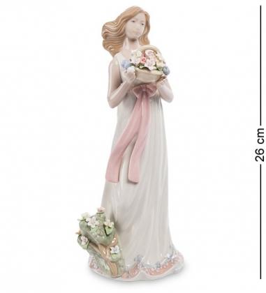 CMS-20/12 Фигурка Девушка с цветами  Pavone