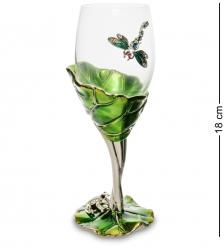 WIN-158 Бокал для вина «Лотос с лягушкой»