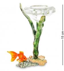 WIN-159 Подсвечник «Золотая рыбка»