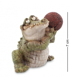 CD-7123-SC Фигура мал. Крокодил «Баскетболист»  Sealmark