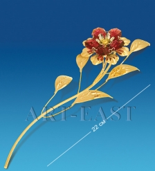 AR-1237 Фигурка  Цветок  с цв.кр.  Юнион