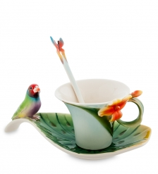 FM-33/ 2 Чайная пара Попугай  Pavone