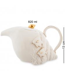 FM-34/ 2 Заварочный чайник Морская ракушка  Pavone