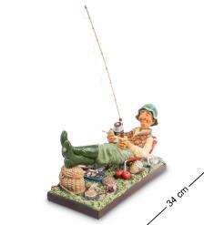 FO-85503 Статуэтка  Рыбак   The Fisherman. Forchino