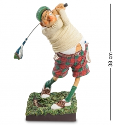 FO-85504 Статуэтка  Гольфист   Fore..! The Golfer. Forchino