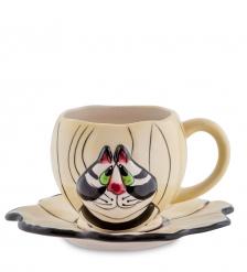 BS- 20 Чайная пара  Кот Кланси
