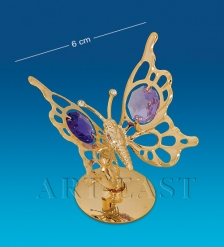 AR-1256/ 1 Фигурка  Бабочка  с цв.кр.  Юнион