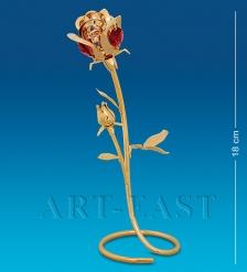 AR-1282/ 1 Фигурка  Роза  с цв.кр.  Юнион