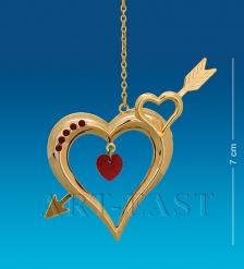 AR-1294/ 3 Фигурка Сердце со стрелой  Юнион