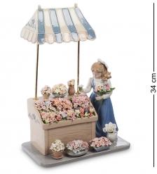 CMS-20/21 Композиция  Девушка с цветами   Pavone