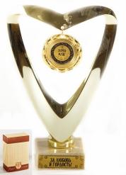Кубок  подарочный Сердце Super муж