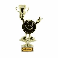 Кубок подарочный Смайлик Самый талантливый! 18см