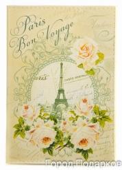 Обложка для автодокументов Бон Вояж Париж