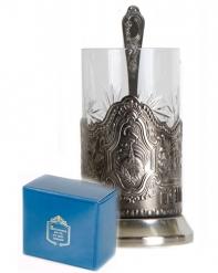 Набор для чая (3 предмета)  Космос никел. карт. коробка