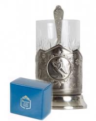 Набор для чая (3 предмета)  Хоккей никел. карт. коробка