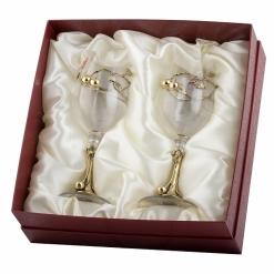 Бокалы для белого вина серия Вишня 2 шт в картонной коробке