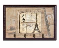 Ключница Париж, 25*20, венге