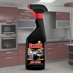 Sanitol для кухни универсальное чистящее средство с распылителем 500мл