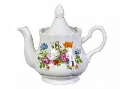 """Чайник Романс 800 см3 """"Букет цветов"""""""