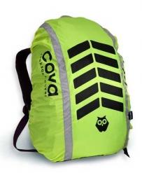 """Чехол на рюкзак со световозвращающими лентами, """"СИГНАЛ"""", цвет лимон, объем 20-40 литров, PROTECT™"""