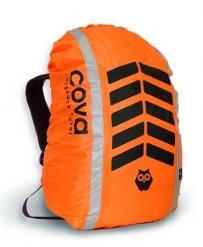 """Чехол на рюкзак со световозвращающими лентами, """"СИГНАЛ"""", цвет оранж, объем 20-40 литров, PROTECT™"""