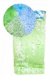 Коврик в ванную РАКУШКИ 70*35см, плотный