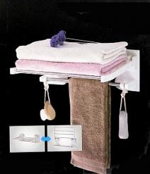 Полка с вешалкой для полотенец VENTOSA