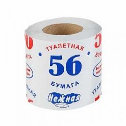 """Бумага туалетная """"Нежная"""" """"56""""  1 рулон."""