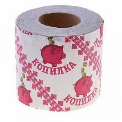 """Бумага туалетная """"Копилка"""" 1 рулонная"""